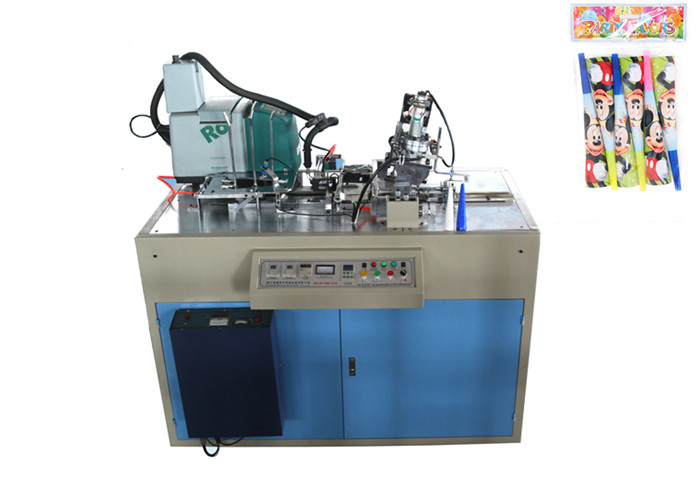 Stable Running Paper Horn Manufacturing Machine High Output 50 - 65 Pcs / Min