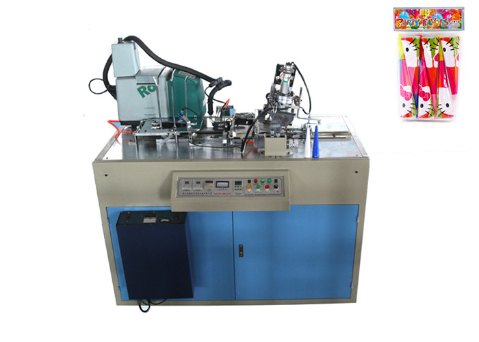 Economical Cardboard Paper Horn Forming Machine , Paper Horn Maker Equipment