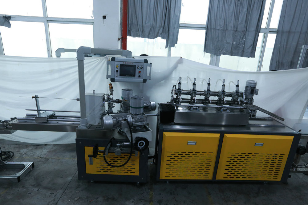 High Speed Paper Straw Machine Integrates Raw Material Feeding 3 Layer