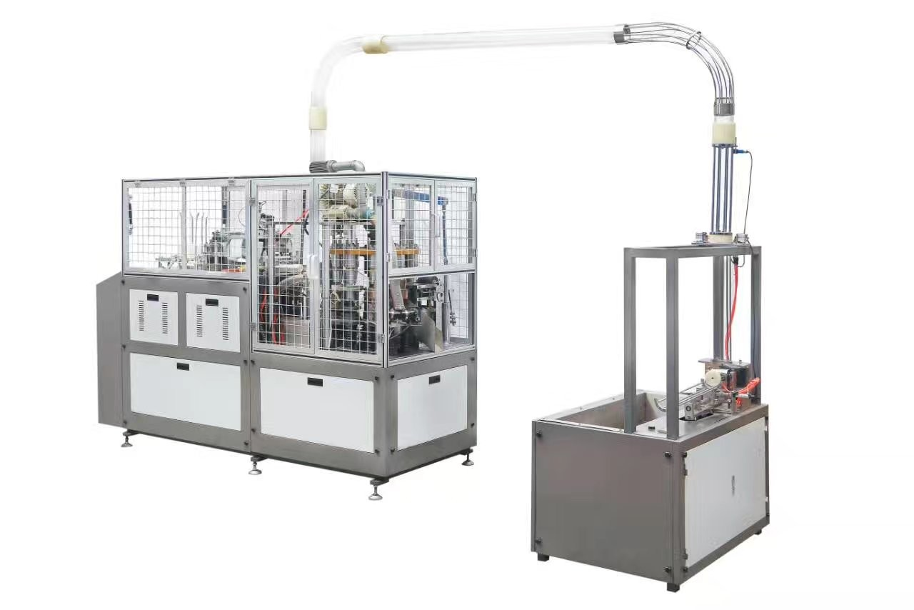 High Speed Paper Cup Making Machine with PLC Touch Screen Control