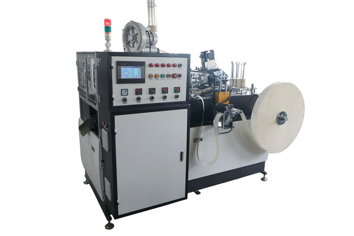 Hot Drink Paper Cup Making Machine One Side PE Coated Paper Material