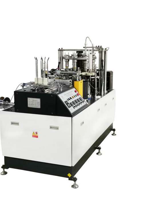 Automated Paper Cup Forming Machine , Electric Paper Cup Making Machinery